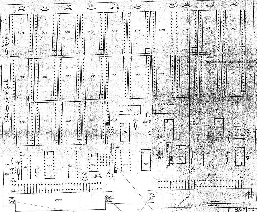 Schaltpläne und Datenblätter für den Restaurator auf YCDT.net